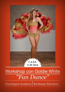 Workshop Burlesque con Goldie White
