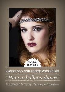 Workshop Burlesque con Marge Von Bla Bla