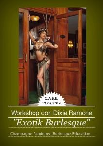 Workshop Burlesque con Dixie Ramone