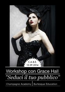 Workshop Burlesque con Grace Hall