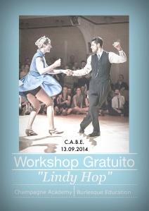 Workshop Lindy Hop con Matteo De Stefano