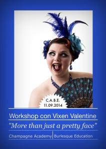 Workshop Burlesque con Vixen Valentine