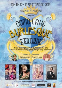 locandina Como Lake Burlesque Festival